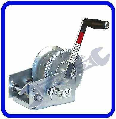 2 Speed Trailer Hand Winch 1100kg Maximum Capacity - MP7976