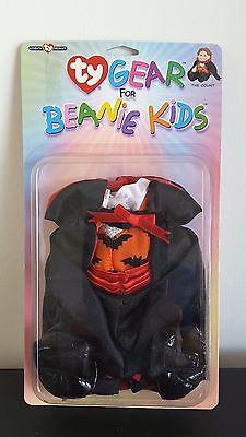 New Ty Gear Beanie Kids Halloween The Count Dracula  -  2 Available