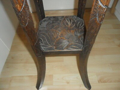 Antique Wooden Carved Plant Stand/Display