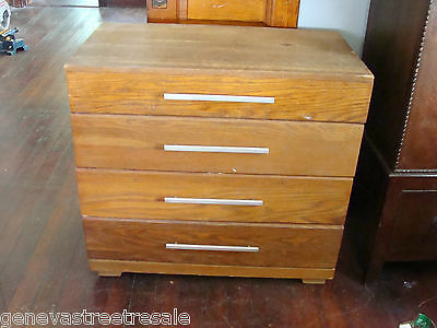 Mid Century Modern Four Drawer Dresser Designed Raymond Loewy MENGEL Furniture