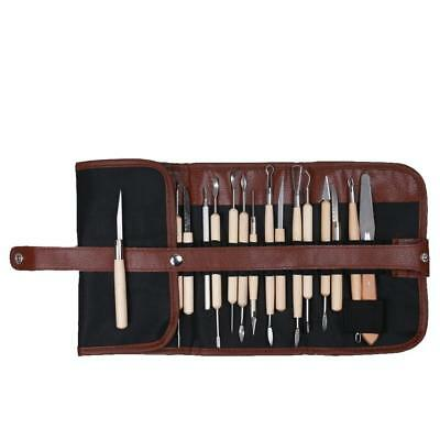 22 Sculpting Carving Tool Kit Modeling Supplies for Ceramic Hobby Art Craft