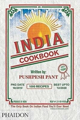 India Cookbook By Pushpesh Pant 1000 Indian Recipes Cook Book