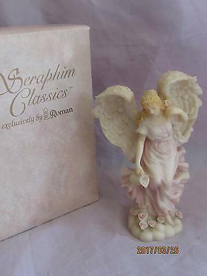 "Roman 1996 Seraphim Angel Rosalie ""Natures Delight"""
