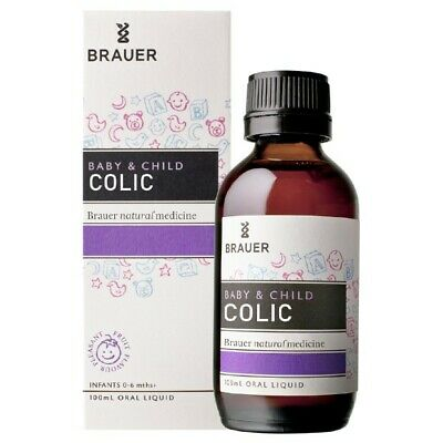 Brauer Baby & Child Colic 100Ml For Abdominal Pain Releif From Colic Pain