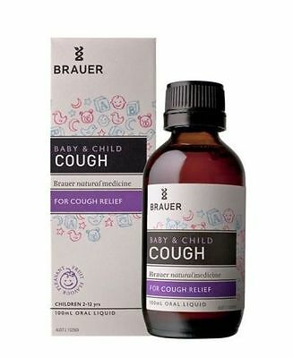 Brauer Baby & Child Cough 100Ml For Cough Relief 2 - 12 Years
