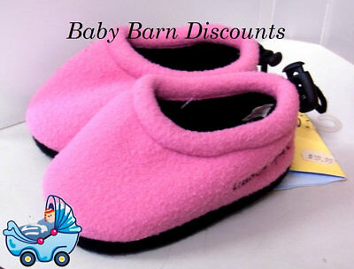 Goldbug Pink Fleece Toggle Slippers - 24-30 months - Pink