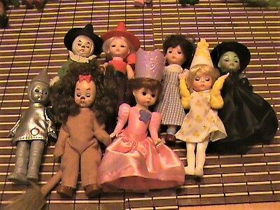 Complete Set Of 8 - Wizard Of Oz 2007 - Madame Alexander Dolls Happy Meal