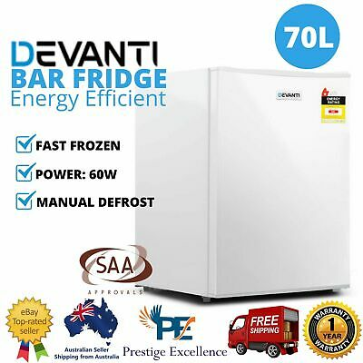 Glacio Electric Mini Bar Fridge Home Office Refrigerator Cooler Freezer 48L, 70L