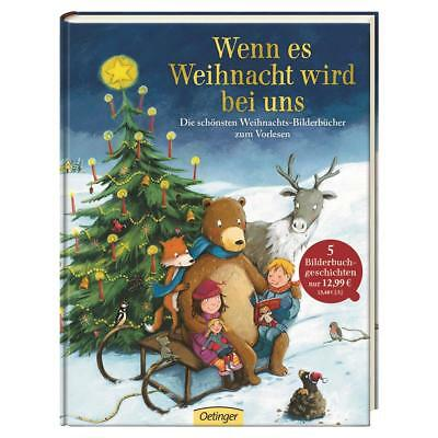 Wenn es Christmas is with us 5 Christmas stories in one Children's book