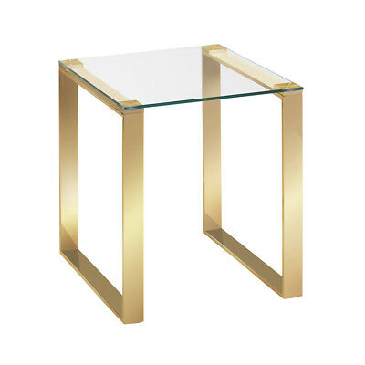 NEW Brass Adele Side Table