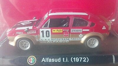 Due cast Alfa Collection  Alfasud TI Petterson 1972 1/43 n/ixo   blister