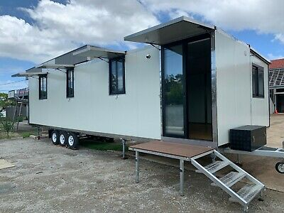 10.9m Mobile Cabin Granny Flat Container Studio Tiny House Office Relocatable