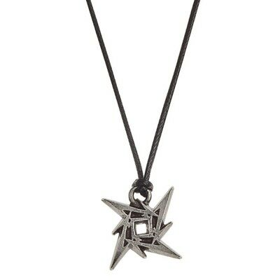 Metallica Ninja Pendant Metal Cord Chain Necklace Official Alchemy Rock Jewelry