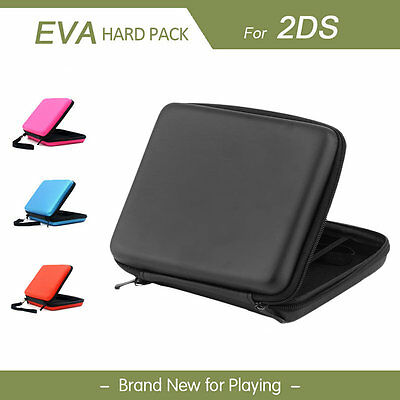 EVA Protective Hard Case Hard Cover Game Card Hard Shell Bag For Nintend 2DS AA