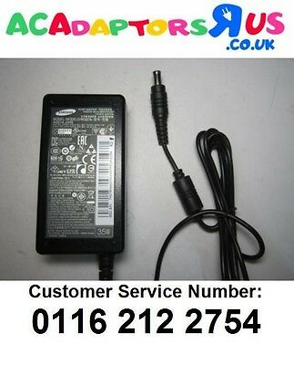 Replacement Samsung 14V 2.5A 35W Mains AC-DC Adaptor Power Supply with UK Lead