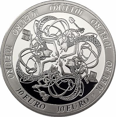 Ireland  €10  Euro  2007  Proof  Celtic  Culture  Coin  From The Central Bank
