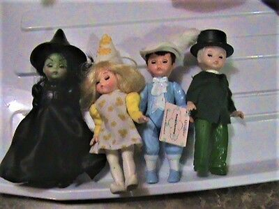 4 Madame Alexander Dolls - Happy Meal Mcdonald's Wicked Witch Of The West