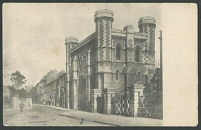 Reading Berkshire Abbey Gateway Vintage Frith Printed Postcard