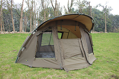 Quest Comfort Mk1 Carp Fishing Bivvy & Overwrap 1 Man Overnight Shelter Tackle