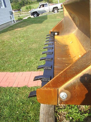 Toothbar for Tractor or Bobcat Bucket    Free shipping!!!!
