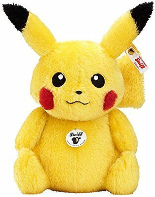 Good smile Company Steiff x Pokemon Pikachu Stuffed Doll Toy 1000 Limited
