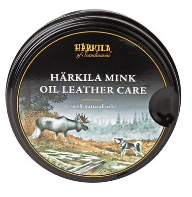 Harkila Boot Wax - Mink Oil Leather Care 170ml Hiking Shooting Hunting