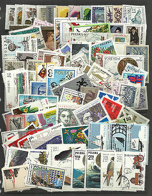 POLAND STAMP COLLECTION PACKET of 200 DIFFERENT POSTAGE STAMPS Mostly Used