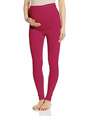 Tg 49  Cache Coeur Illusion, Collant Donna, Red (Cassis), 49