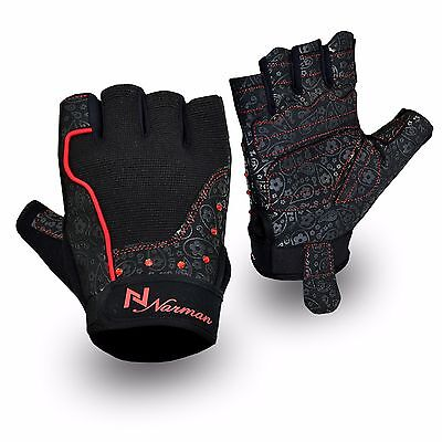 Ladies Gel Gloves Fitness Gym Wear Weight Lifting Workout Training Cycling