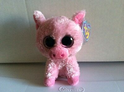 47fbec5b73b TY BEANIE BOO CORKY the Pig UK Tag-No Poem or Birthday 6