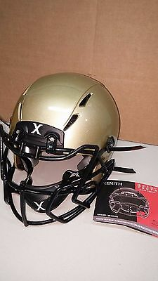 Xenith Epic+ Youth Football Helmet-Large, Metallic Vegas Gold w/choice of mask