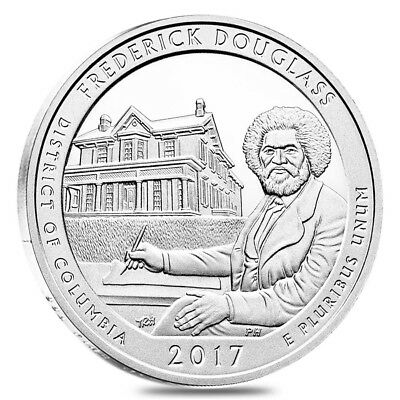 2017 5 oz Silver America the Beautiful ATB District of Columbia Frederick Dougla