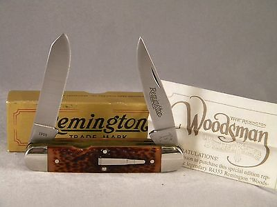 Remington R4353 Woodsman Bullet Knife ~ 1985 ~ New In Box