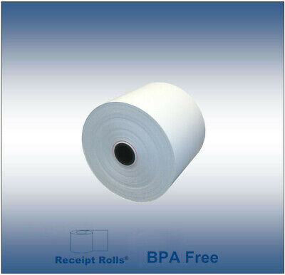 "2 5/16"" x 400' Wayne Pump Thermal Paper Rolls  - 24 Rolls"
