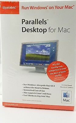 Parallels Desktop for Mac (2006) Nova Development NEW SEALED