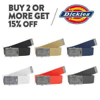 "Dickies Belt Adjustable Belt Web Military Utility Canvas Cotton Belt 42""11Di0302"