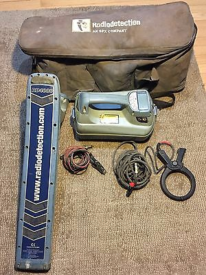 Radio Detection Locator RD4000 and Transmitter TX10