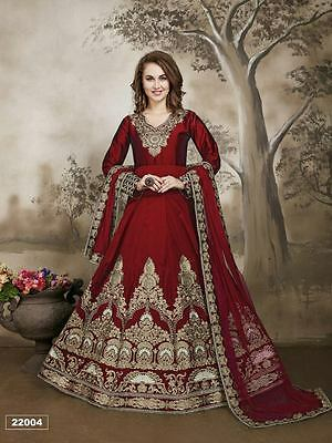 Indian salwar kameez pakistani bollywood ethnic designer anarkali suit dress new