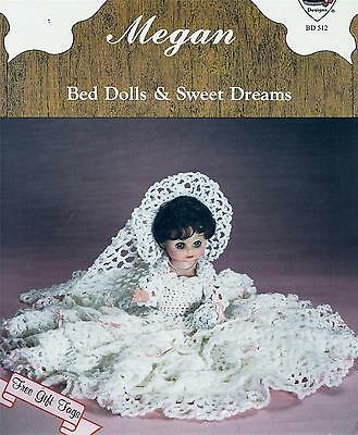 Vintage Megan Bed Dolls & Sweet Dreams Crochet Pattern