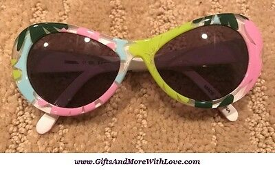 Gymboree NWT Multi-Color EASTER SPRING FLOWER DRESS SUNGLASSES 0 1 2 Years