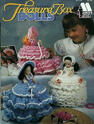 Treasure Box Dolls Crochet Booklet - Annie's Attic - 6 Designs
