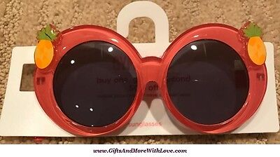 Gymboree NWT Multi-Color PINEAPPLE UVA UVB PROTECTION DRESS SUNGLASSES 2 3 4 Yrs