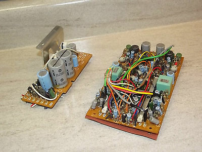 Pioneer H-R100 8-Track Original Board CNP-094 and CNP-266 Part
