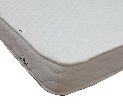 Babyworth 100% certificate Organic Cotton Innerspring Cot Crib Mattress 130x69cm