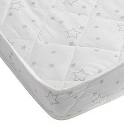 Babyworth Innerspring Cot Crib Baby Bed Mattress 69x130 cm cotton cover