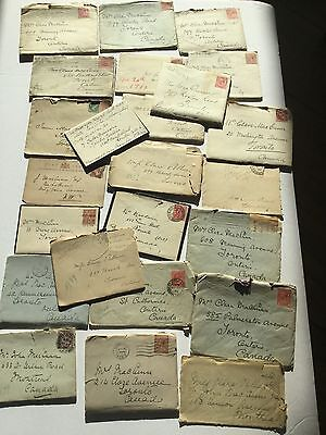 Historical MacCunn Letters Mail Lot Ephemera