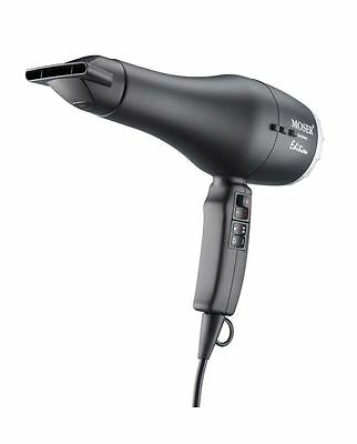 Moser Hair dryer professional line Edition Pro 2100 W black Hairdryer Foaming