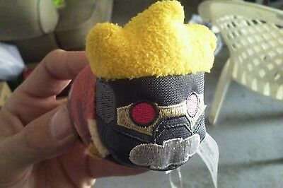 "NEW Disney Store Tsum Tsum - Guardians Of The Galaxy - Star Lord Mini 3.5"" Plush"
