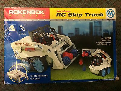 Rokenbok 03205 RC Skip Track Original Rokenbok Building System New Shop Worn Box