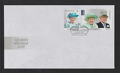 Australia 2017 : Queen's Birthday First Day Cover, Mint Condition